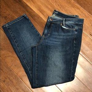 😎 5/$10 J.Jill  Straight Fit Slim Boyfriend Jeans